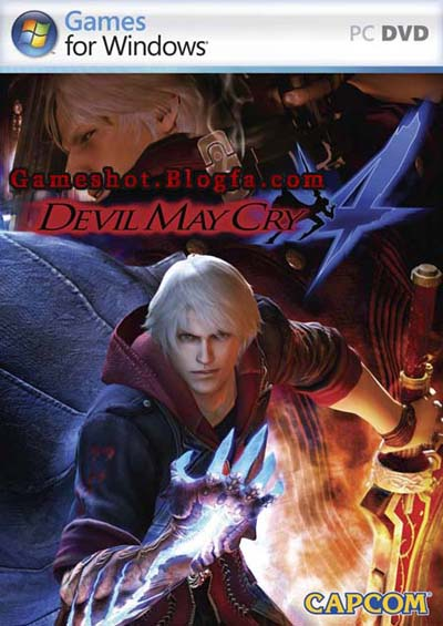 devil may cry 4, عکس بازی devil may cry 4, عکس بازی دویل می کرای 4, devil may cry 4 dvd picture